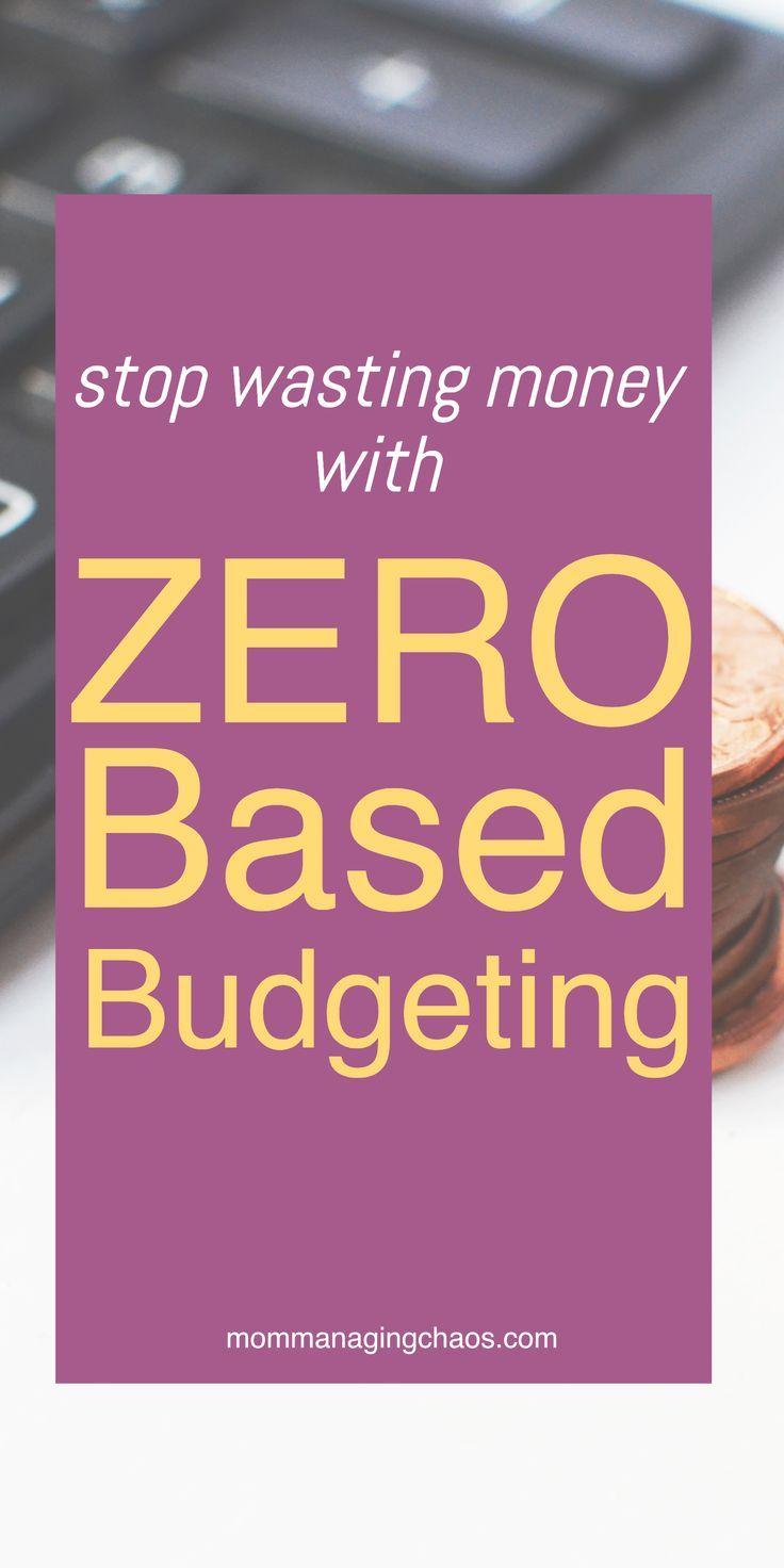 Zero Based Budgeting Budgeting finances, Budgeting