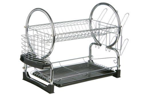 Accesorios para cocina y comedor - Escurridor de platos de 2 pisos - http   193aca0fe344