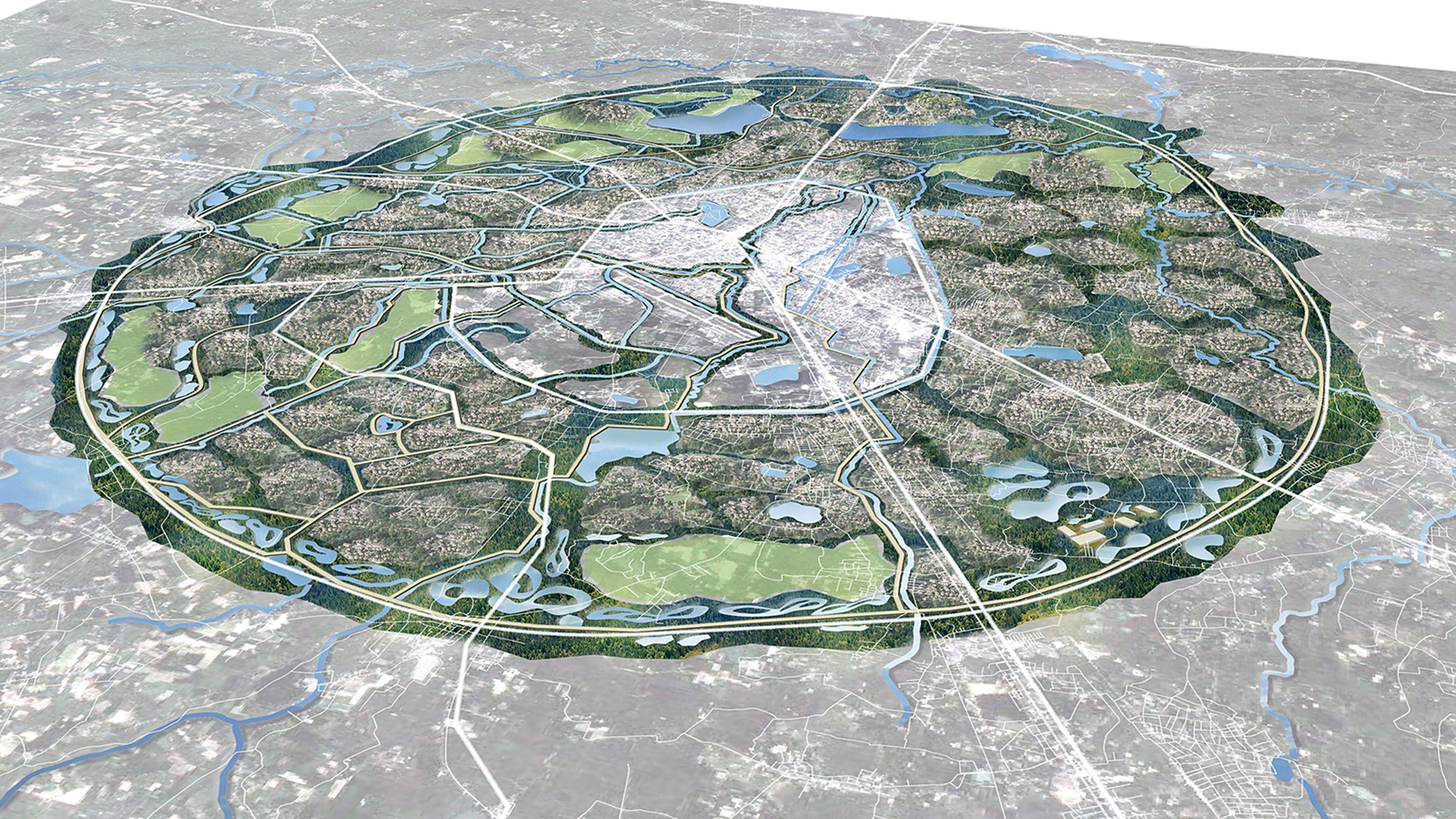 Estudiooca Wins Rockefeller Foundation Grant To Develop Green Infrastructure Master Plan In Northern Thailand In 2020 Sponge City City Master Plan