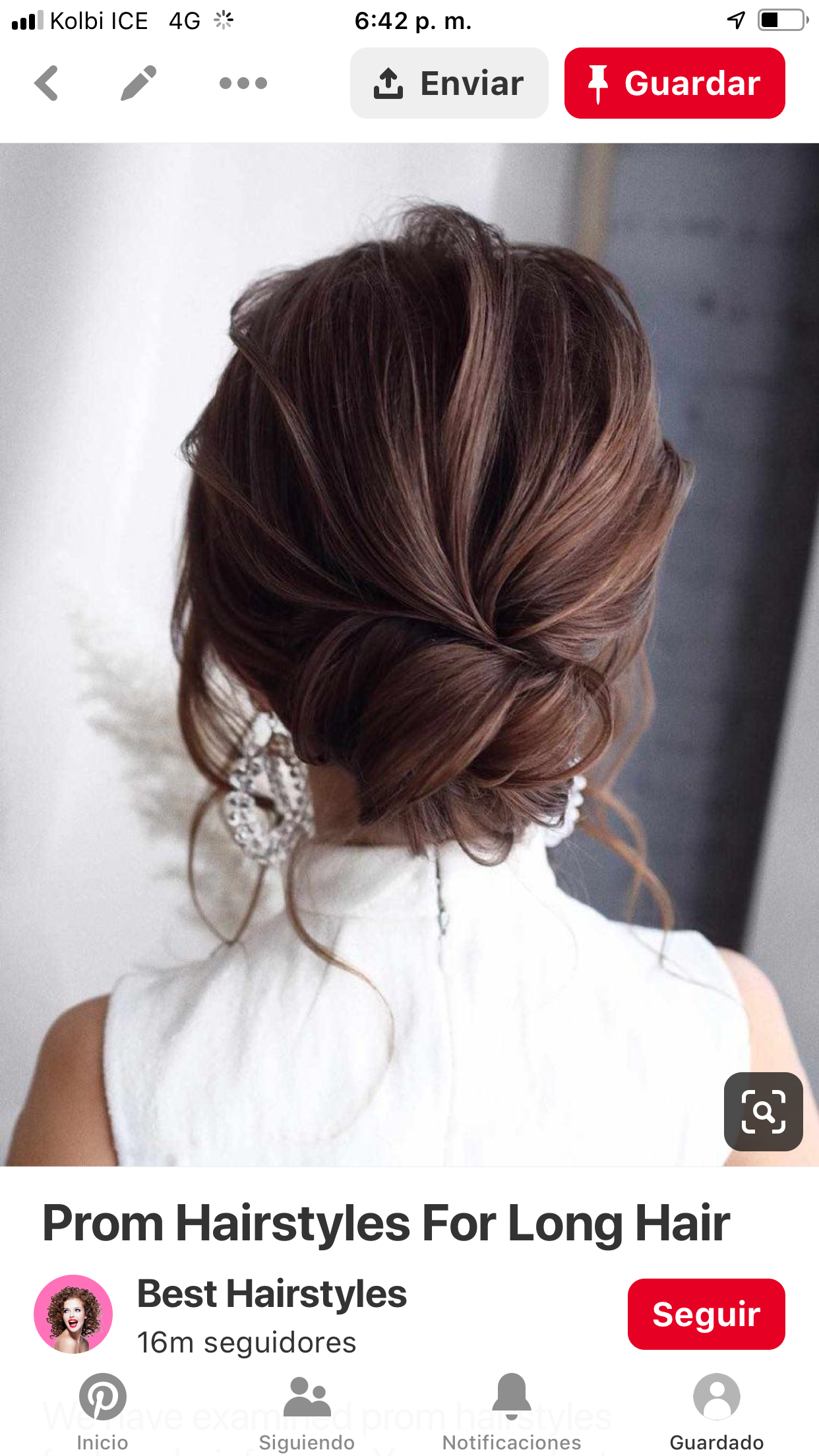 Low Loose Bun Really Like Prom Hairstyles For Long Hair Long Hair Styles Wedding Hair Inspiration
