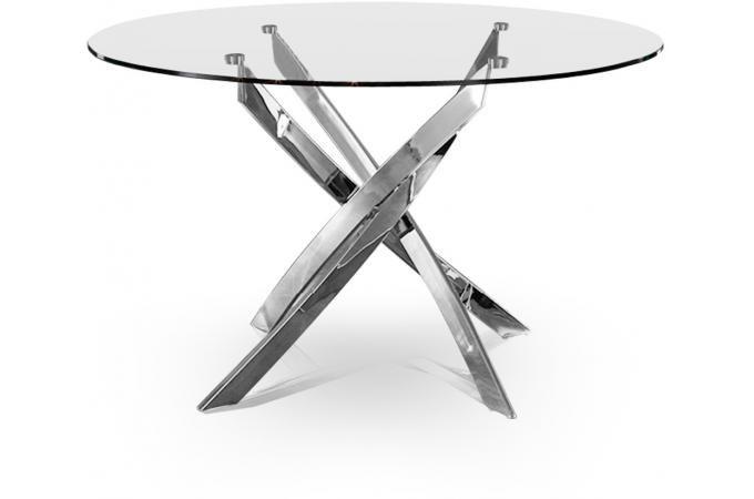WAYNEdecoTableFurniture Croisade et Chrome Chrome Table wkZNnPX08O