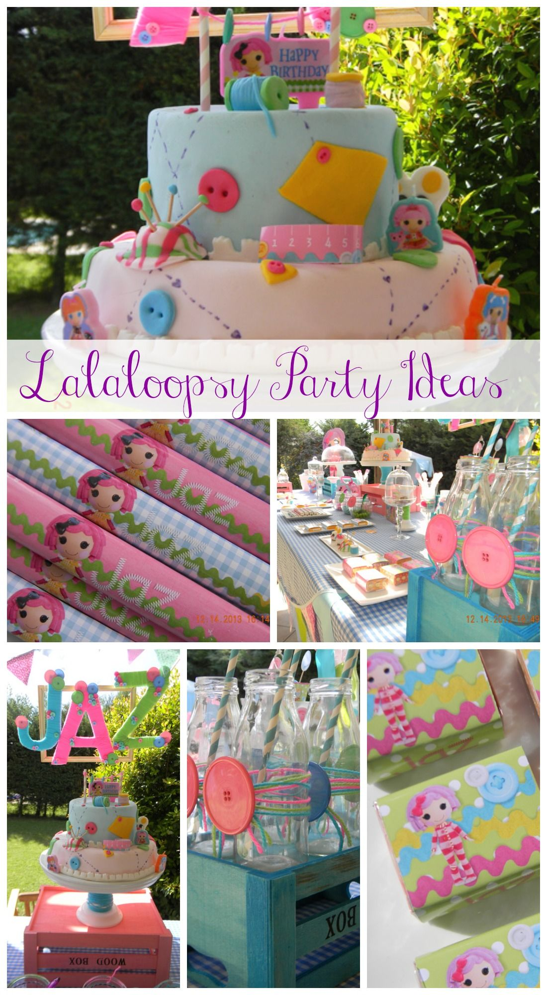 Great Lalaloopsy girl birthday party ideas including a terrific