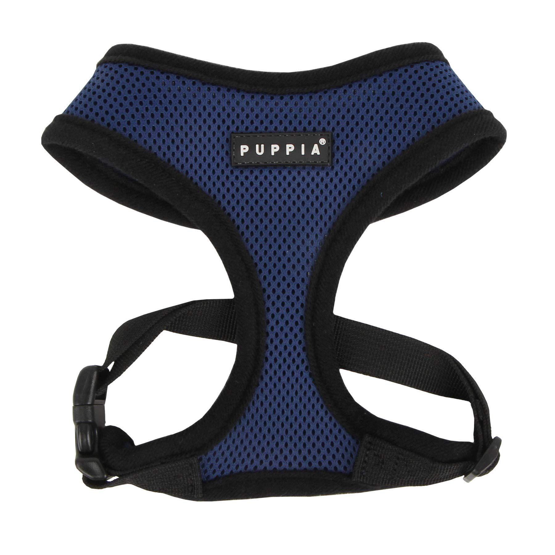 Puppia Soft Dog Harness Royal Blue Small *** More info