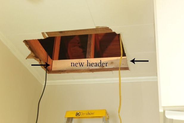 How To Head Out An Attic Access The Space Between Attic Renovation Attic Remodel Attic Doors