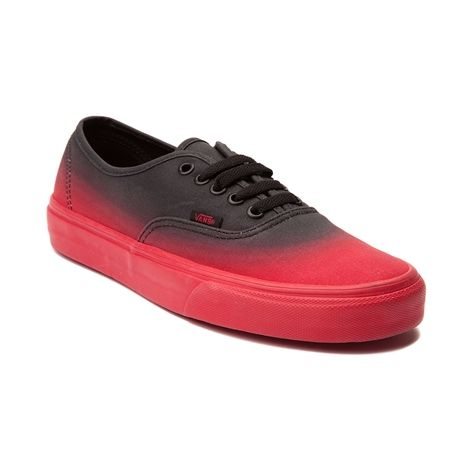Shop for Vans Authentic Fade Skate Shoe in Red Black at Journeys Shoes.  Shop today