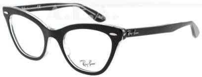 ba7156260b672 Ray Ban RX5226 Eyeglasses-2034 Black Transparent-49mm Amazon Shoes ...