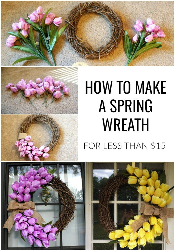 Photo of How to Make a Spring Wreath Using Tulips | Finding Mandee