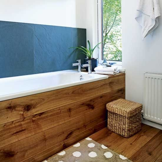 Natural bathroom | For the Home | Pinterest | Slate, Bath and Natural