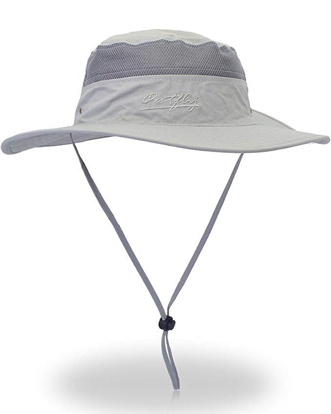 9d9c6a2b091 Outdoor Sun Protection Hat Wide Brim Bucket Hats UV Protection Boonie Hat 56 -62cm Review