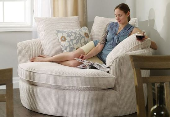 10 Types Of Reading Chairs That Look Extremely Cozy Chairs Cozy Extremely Reading Types Nest Chair Furniture Home