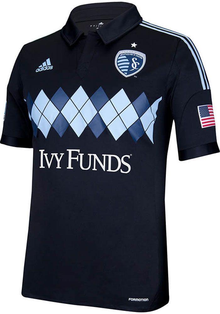 3def3ac9b Sporting Kansas City Adidas Jersey - Mens Third Kit Argyle Authentic Home  Short Sleeve Jersey http
