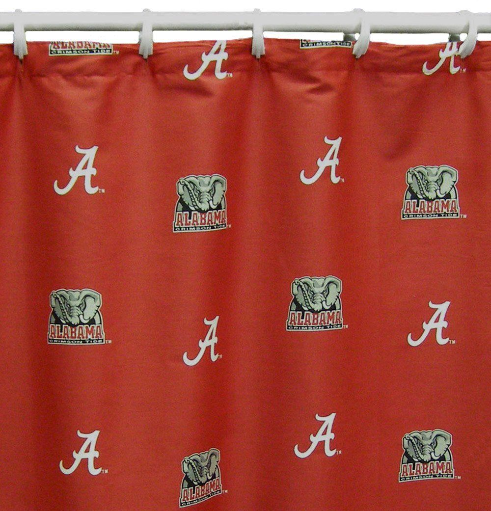 Alabama Printed Shower Curtain Cover 70 X 72 Alasc By College