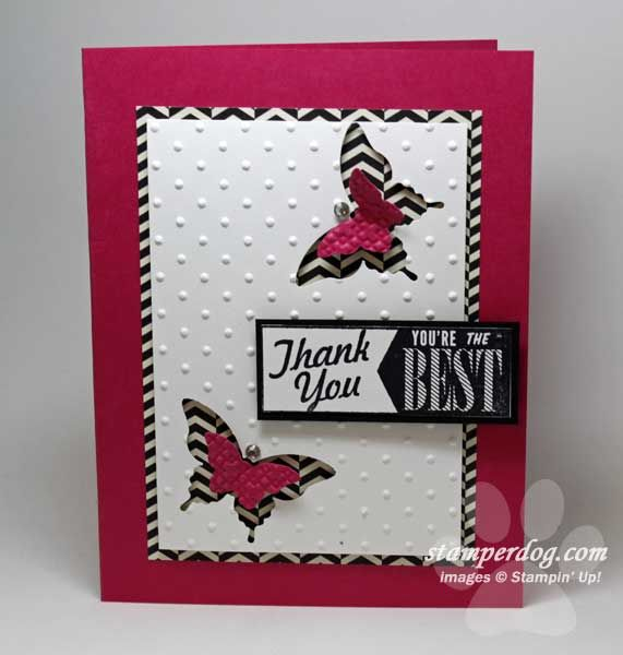 card making ideas thank you