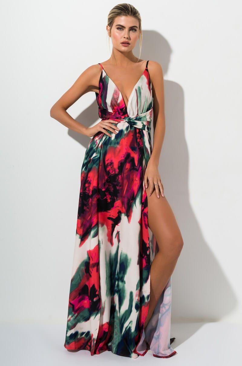 pin auf maxi dress