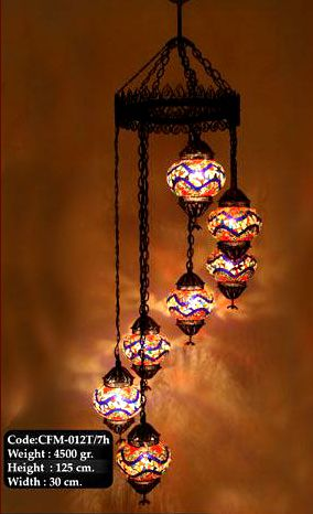 Turkish lamp chandelier casitas arquitectura y decoracin turkish lamp chandelier aloadofball Choice Image