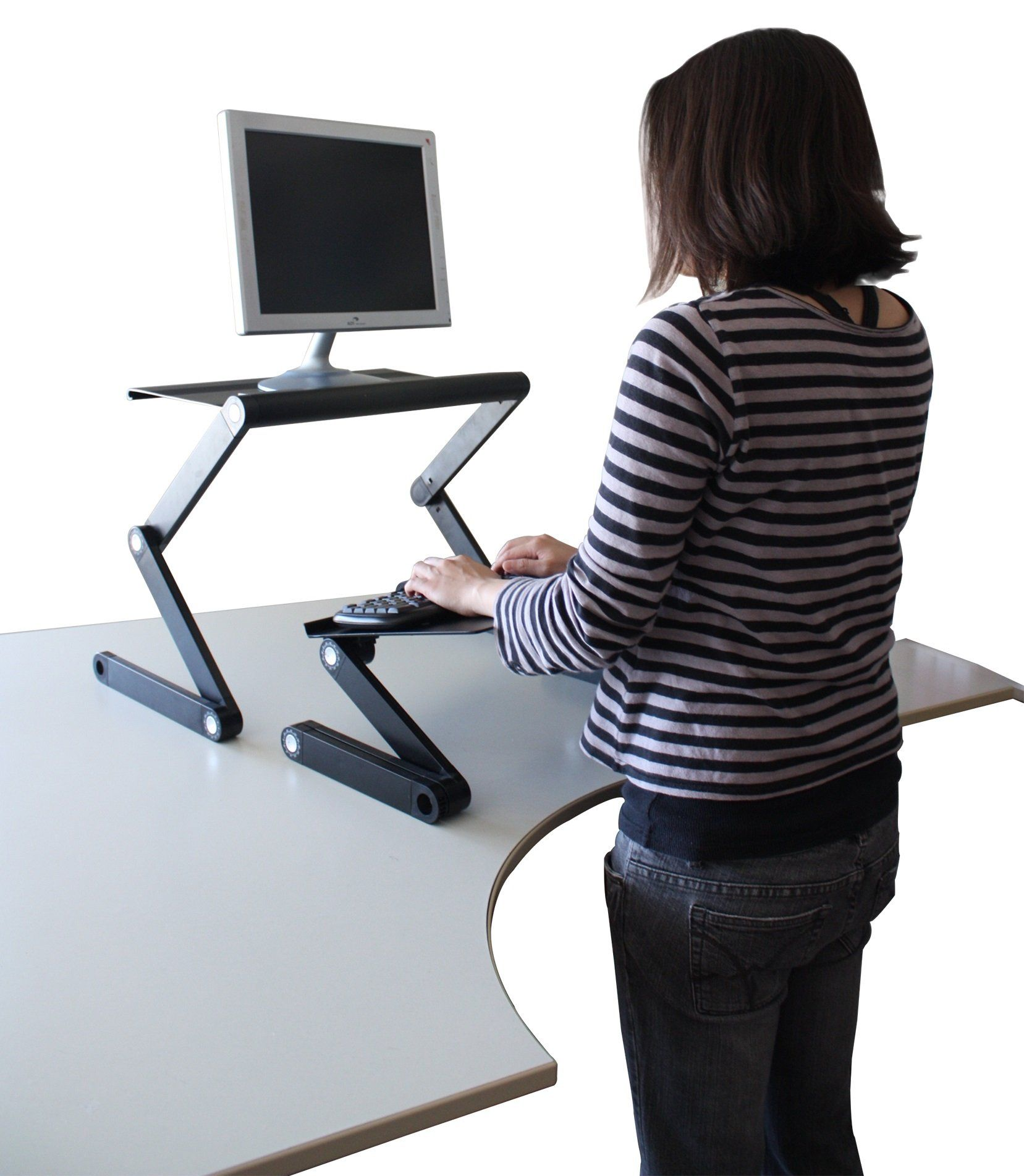 Amazon Workez Standing Desk Adjustable Sit Stand Desk for
