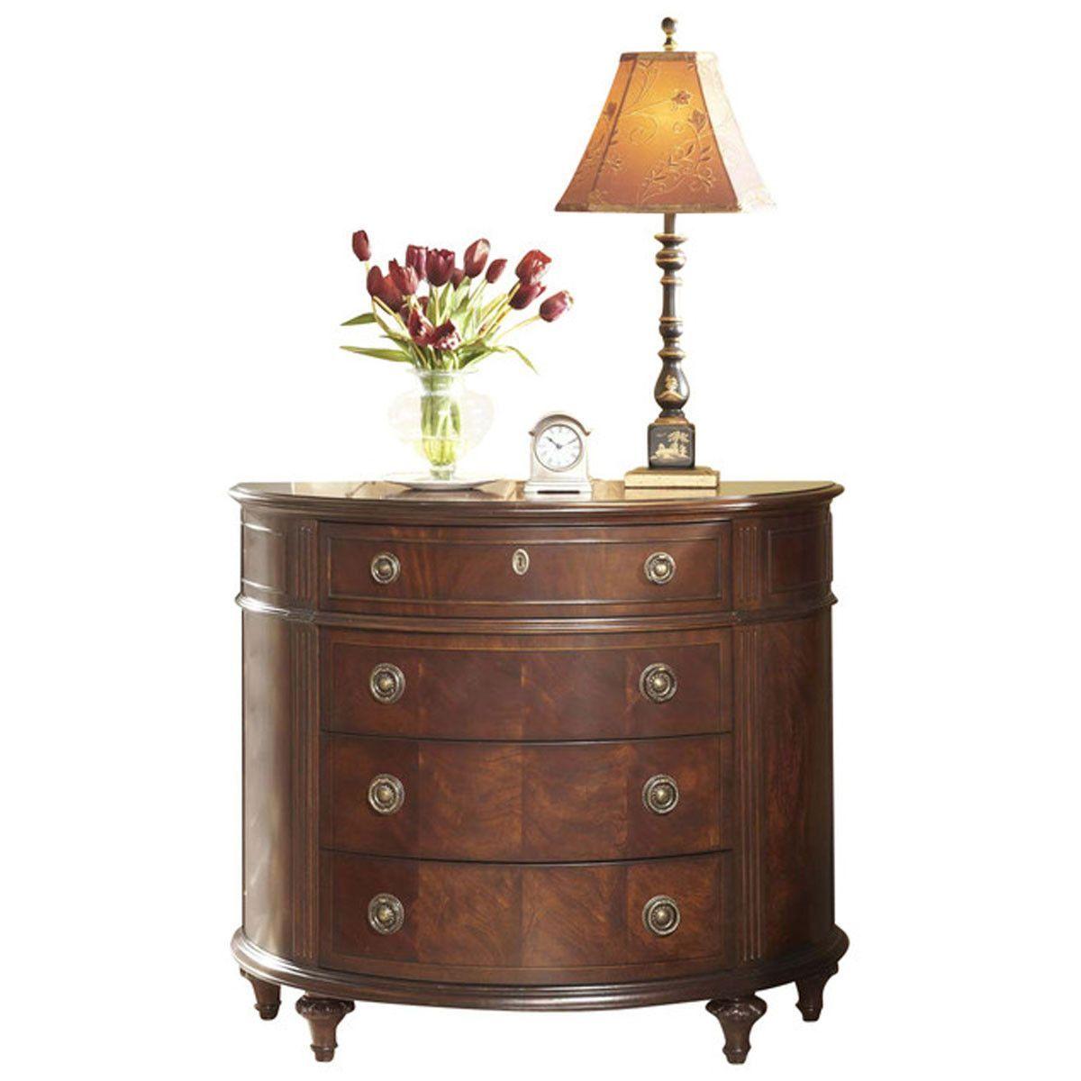 Superieur Fine Furniture Design Antebellum Demilune Chest