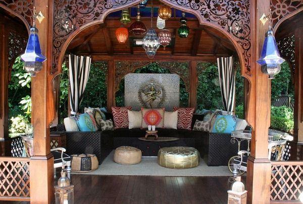 Spécialement conçue cabane de style marocain avec une touche ...