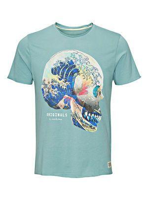 d31464d65 JAPANESE INSPIRED T-SHIRT, Mineral Blue | tees | Apparel design ...