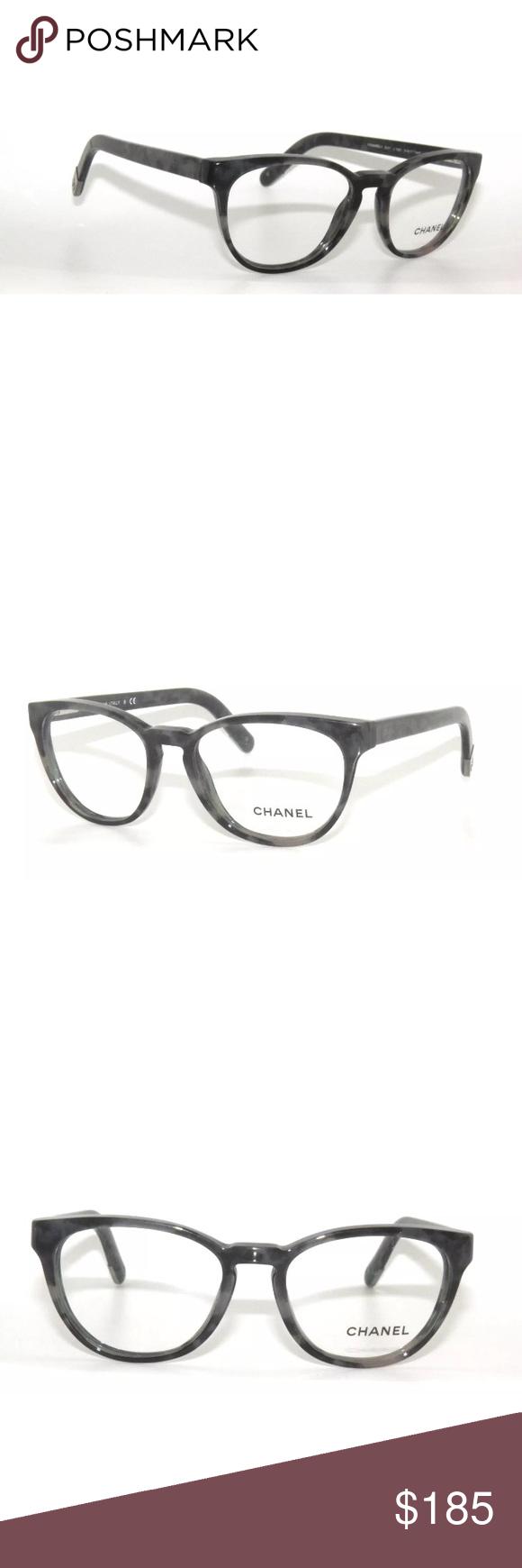33fe592511d8 Chanel Eyeglasses 3237 grey Frame 51mm Excellent Condition