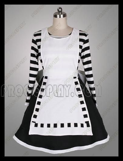 6247783aeea5b Cheap Alice: Madness Returns Maid Alice Cosplay Costume For Sale ...