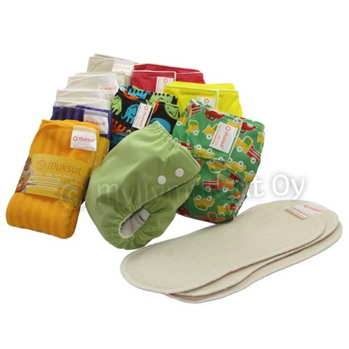 Pocket diaper package