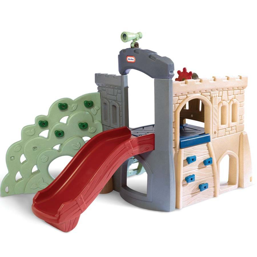 Little Tikes Endless Adventures Rock Climber and Slide ...