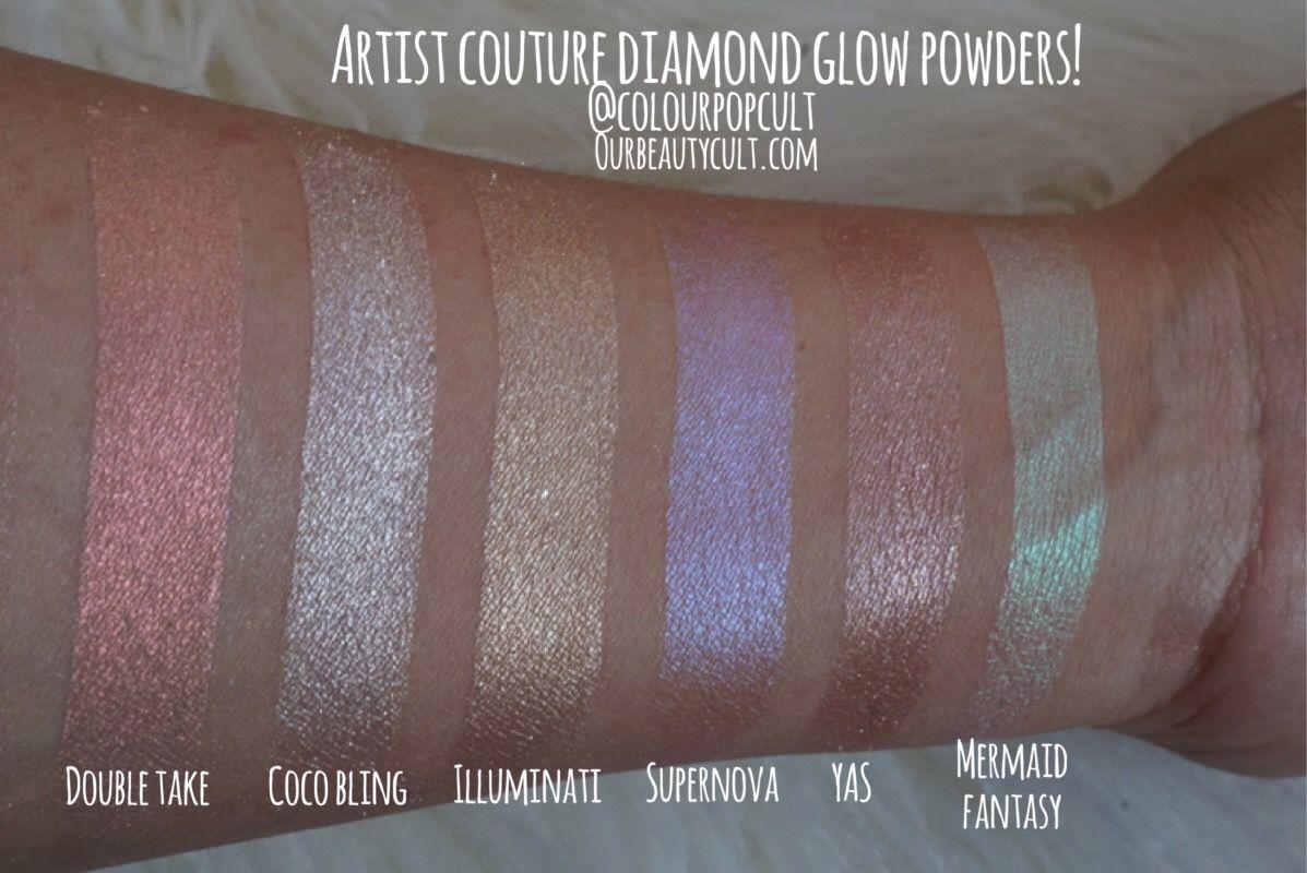 Artist Couture Diamond Glow Powders Artist couture