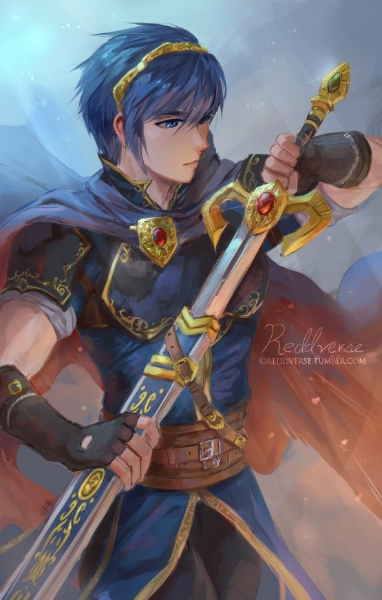 Marth Looks Good Here Fire Emblem Characters Fire Emblem Marth Fire Emblem Heroes