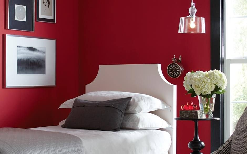 glidden premium 1 gal hdgr27d red rose bouquet semi on home depot wall paint colors id=23404