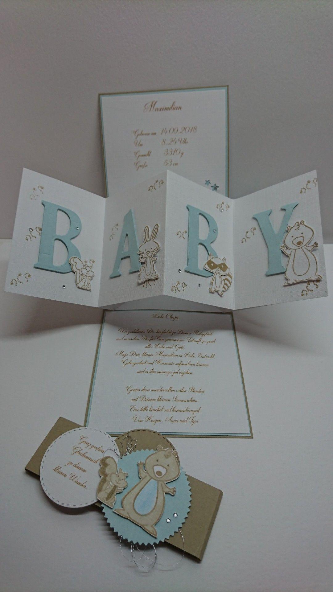 Pin By Earlene Beaver On Anna Maria Eigene Karten Baby Shower Cards Handmade Baby Cards Handmade Baby Shower Cards