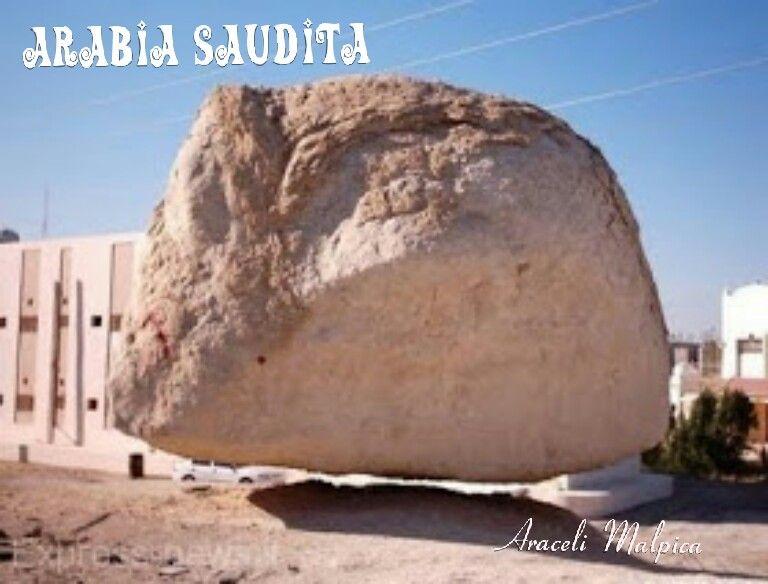 En arabia saudita una roca flota en el aire durante 30 for Clausula suelo desde cuando se aplica