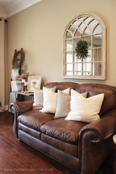 50 Rustic Living Room Ideas for 2019 images