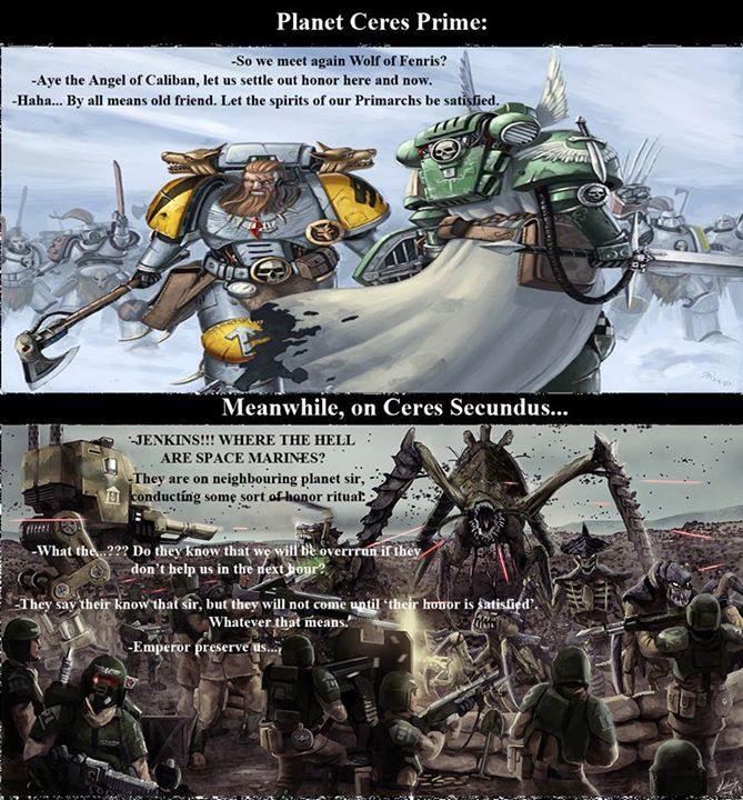 Timeline Photos Warhammer 40k Quotes Codex Jokes And Memes