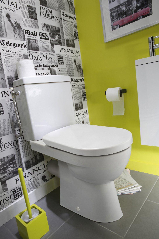 Delicieux Idee Deco Wc Castorama Bath En 2019 Deco Toilettes Originales