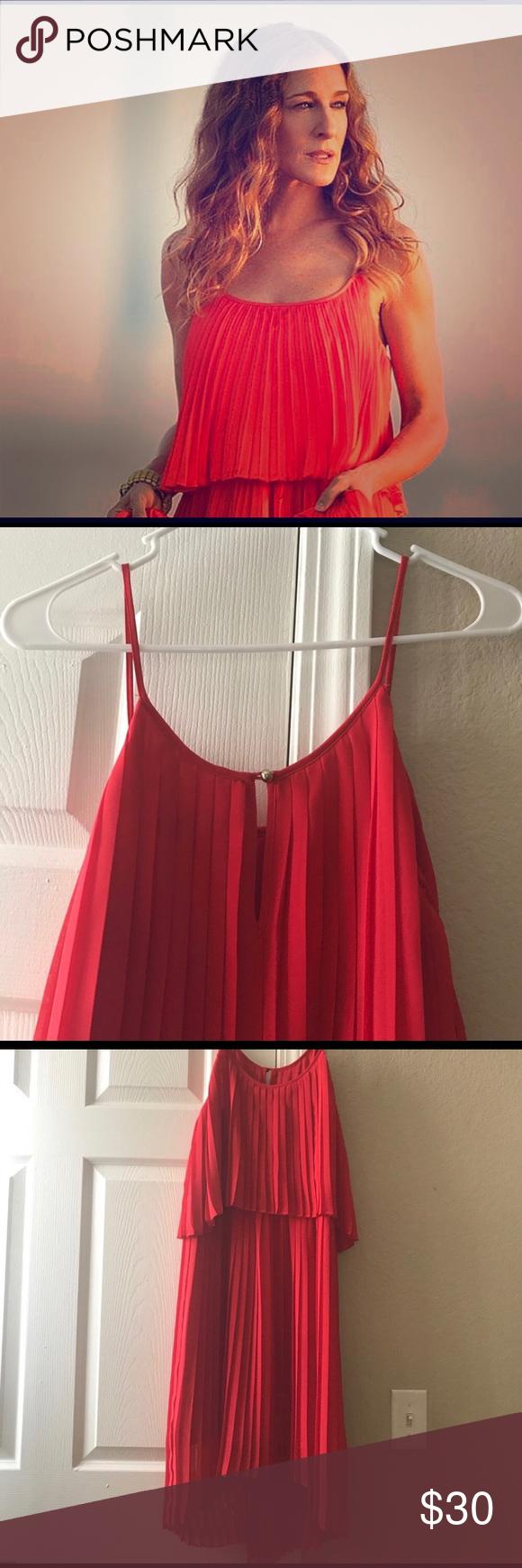 Express pleated red dress my posh closet pinterest dresses