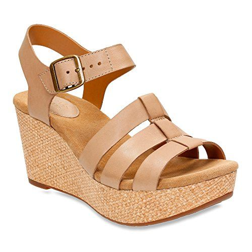 Caslynn Harp Sand Leather - Clarks® Sandals for Women - Clarks® Shoes