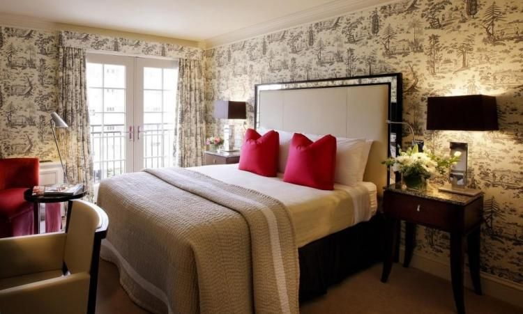 Tapeten im Schlafzimmer \u2013 26 Gestaltungsideen für eine Akzentwand - tapeten design schlafzimmer