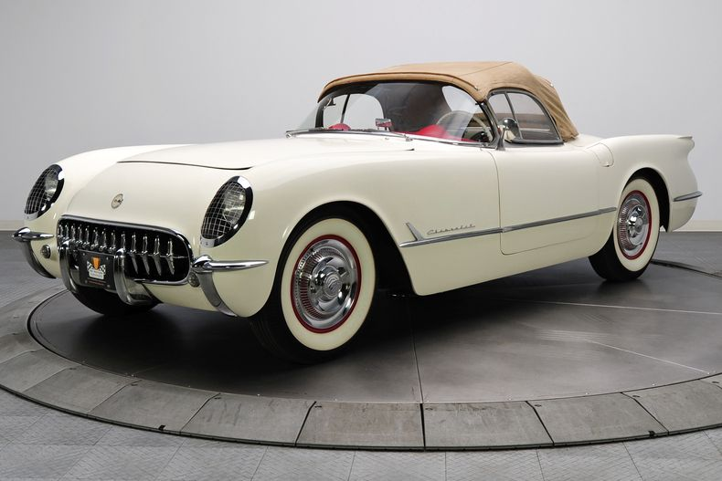 1954 Chevrolet Corvette Classic cars, Muscle cars for