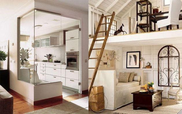 Ideas para decorar y aprovechar al m ximo los espacios for Muebles piso pequeno