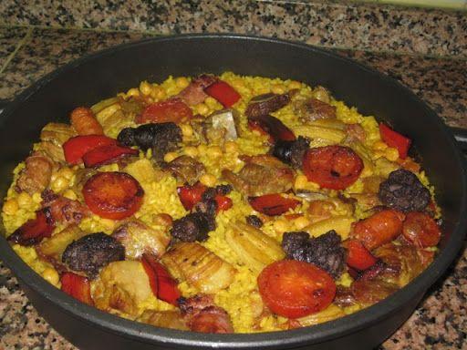 Arroz al horno. Arròs al forn | Alcoiama Blog: Cositas de andar por casa: RECETAS DE COCINA, FOTOS.