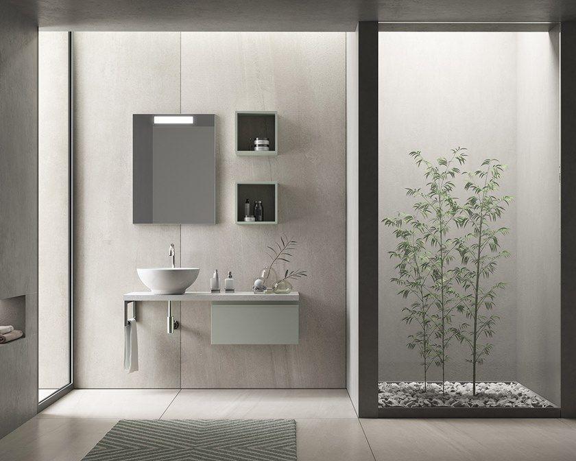 Laminate Bathroom Cabinet Vanity Unit Easy By Inda Bathroom