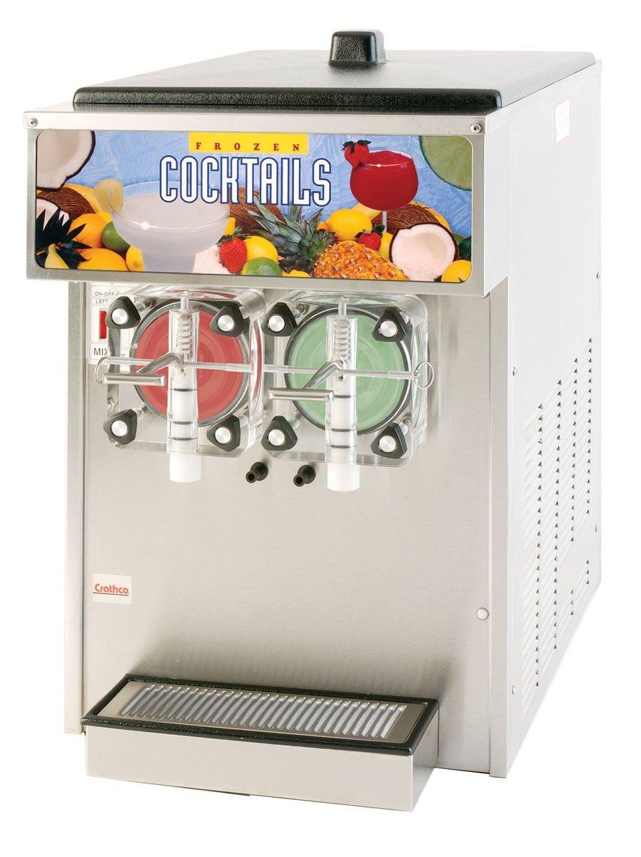 Crathco Twin Countertop Frazen Beverage Dispenser