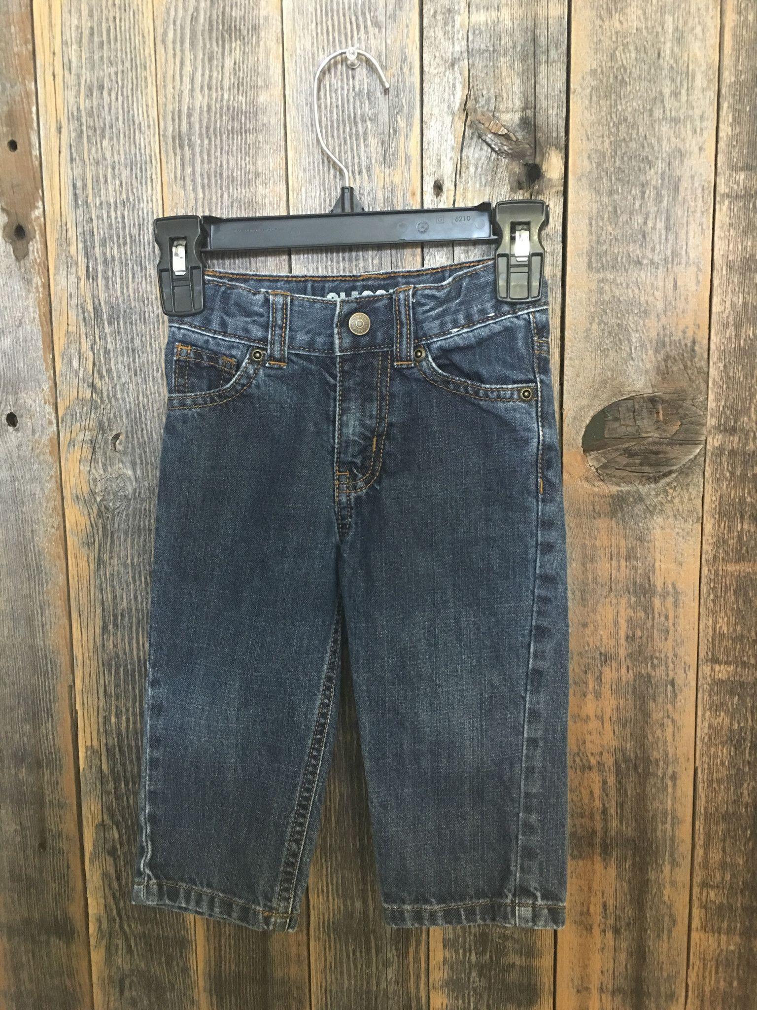 Gymboree Classic Blue Denim Jeans Size 12-18 m