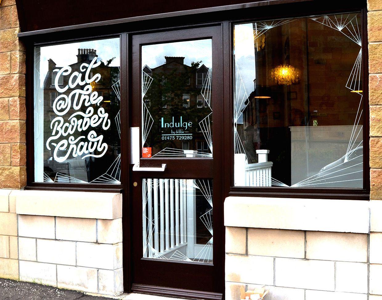 Typographic Window Display   Abduzeedo Design Inspiration
