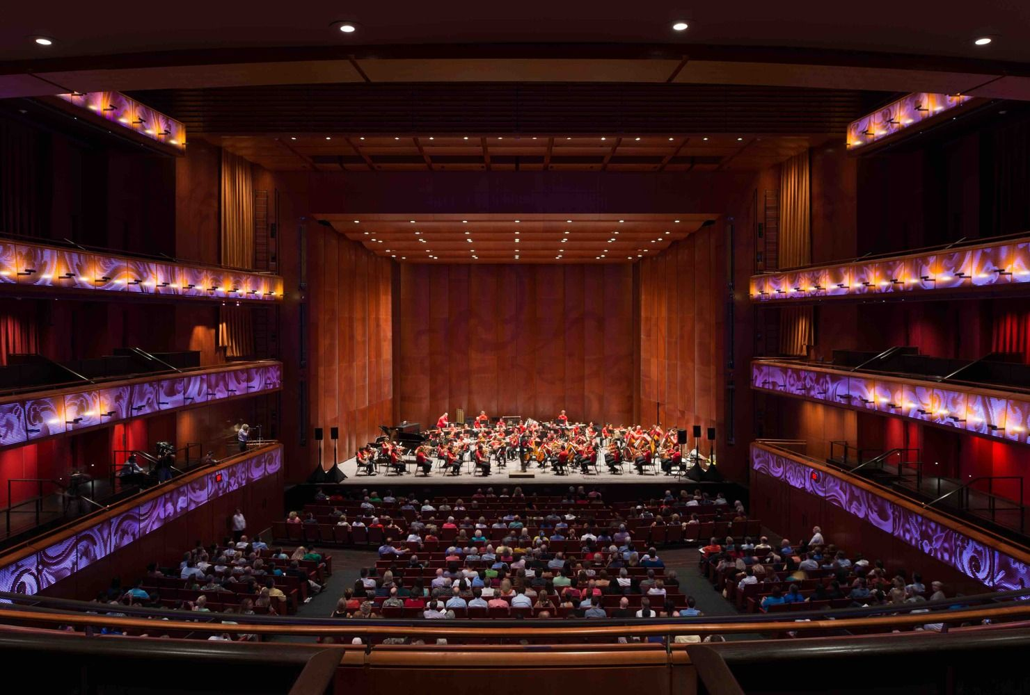 Gallery Of Tobin Center For The Performing Arts Lmn Marmon Mok 12 Cultura