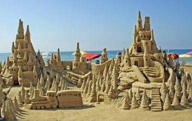 Atlantic Beach Amagansett Sandcastle Contest Hamptons Ny Millhouseinn