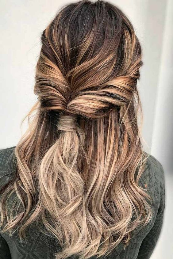 Twisted Hairstyles Adorable Twisted Hairstyle For A Loose Romantic Look Beauty  Pinterest
