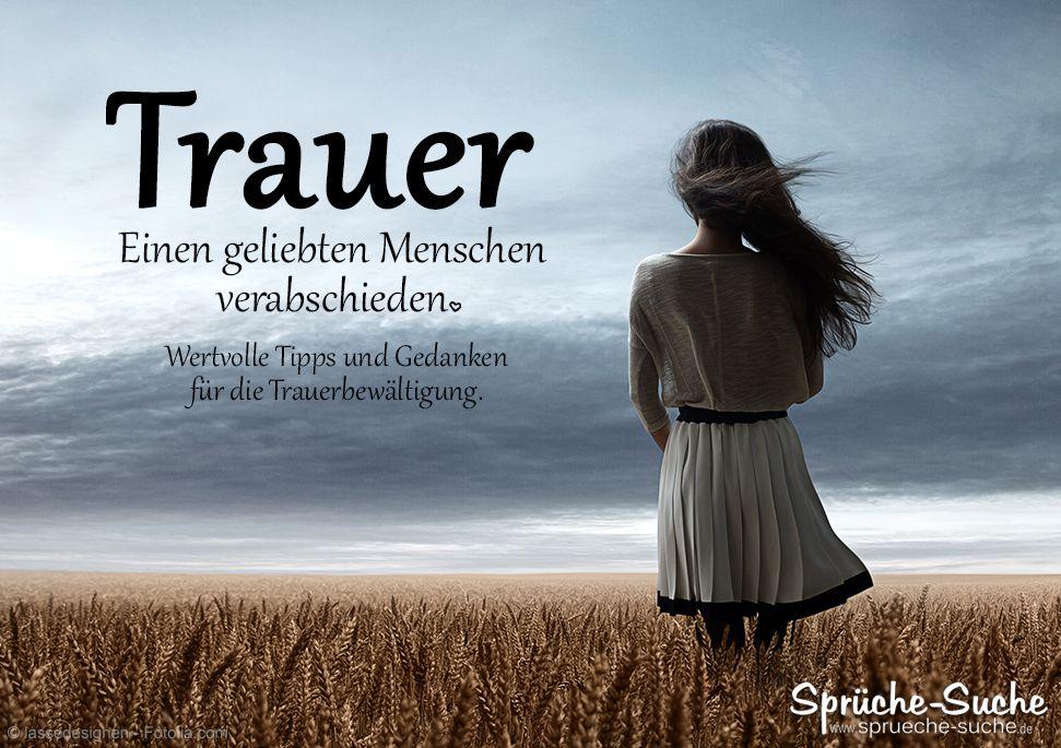 Sprüche Tod Trauer