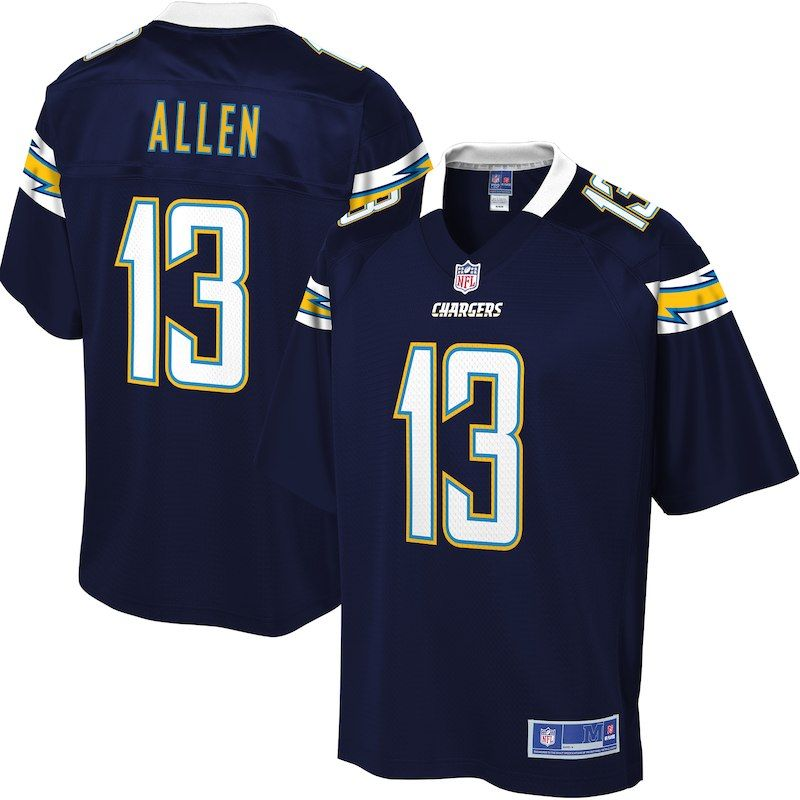 4c1e7e0bdc6 Keenan Allen Los Angeles Chargers NFL Pro Line Big   Tall Jersey – Navy